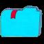 Folder b bookmarks 2 Icon