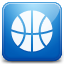 Games blue Icon