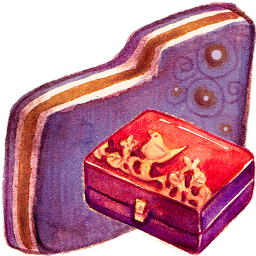 Personal Storage Violet Folder