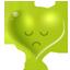 Green heart-64