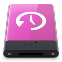 HDD Pink Time Machine W-128