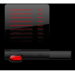 Startmenu black red