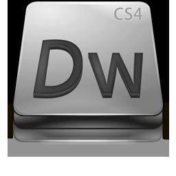 Adobe Dreamweaver CS4 Gray