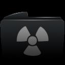 Folder black burnable-128