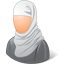 Muslim Female icon