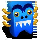 Blue Creature-128