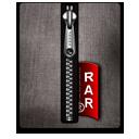 Rar silver black-128