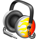 Fiery Funk headphones-128