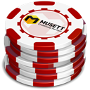 Red Casino Chips-128