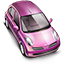 Lady Car Icon
