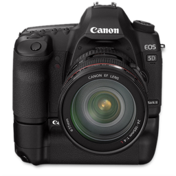 Canon 5D front up bg-256
