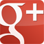 GooglePlus Gloss Red icon