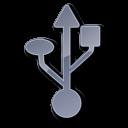 Symbol USB Grey-128