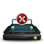 Network Drive Off Icon