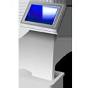 Touch screen kiosk-128