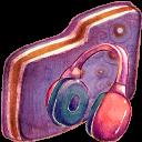 Music Violet Folder-128