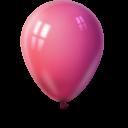 Ballon magenta-128
