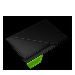 Empty Folder Green