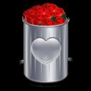 Full love recycle bin