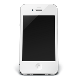White iPhone 4 Off