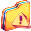 Caution Folder Icon