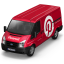 Van Pinterest Front icon