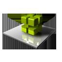 Green Cubes-128