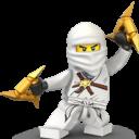 Lego Ninja White-128