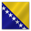 Bosnia and Herzegovina flag-128