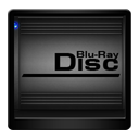 Black Blu Ray Disc-128