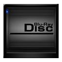 Black Blu Ray Disc-128