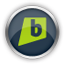 Chrome Brightkite icon