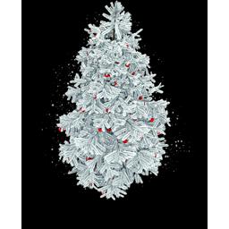 Snowy Xmas Tree