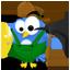 Twitter Golddigger Icon