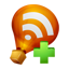 Ballon RSS Feed Add icon