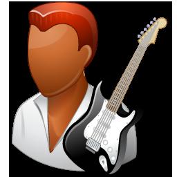 Guitarist Male Dark
