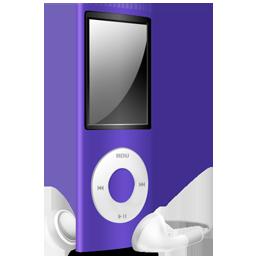 iPod Nano purple off