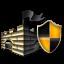 Gold Microsoft Security Essentials Icon
