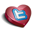 Twitter heart-64