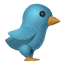 Knit Twitter Bird icon