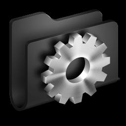 Developer Black Folder