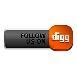 Follow Digg gray red