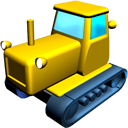Catterpillar tractor-128