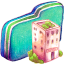 Office Green Folder icon