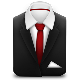Red Tie Suit