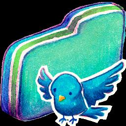 Birdie Green Folder