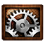 Settings Wooden icon
