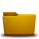 Folder yellow-128