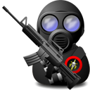 Gas Soldier with Weapon-128