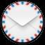 Mail Round Icon